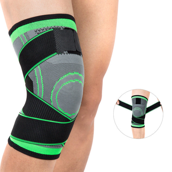 Bandage Weaving Running Cycling Knee Support Braces Nylon Sports Compression Elastic Knee Pads Sleeves For Basetball Volleyball-[product_type]-Come4Buy eShop