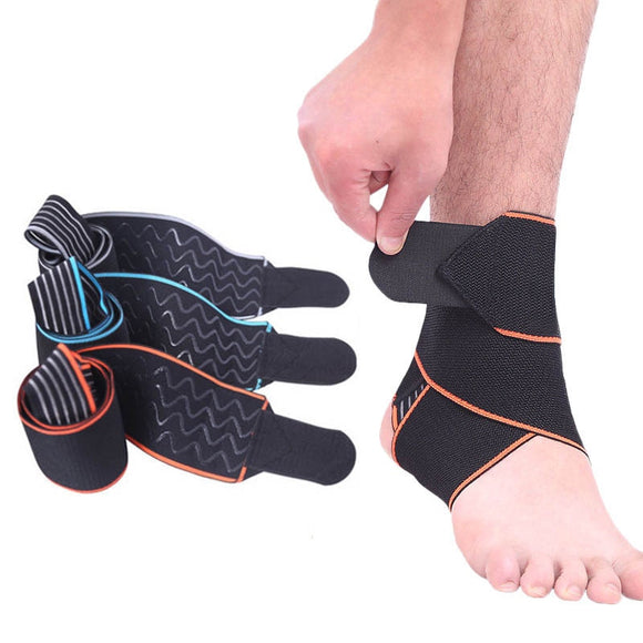 Adjustable Ankle Support Leg Weight Ankle Brace Band Breathable Nylon Sprains Fatigue Ligament Damage Running Sports Safety