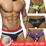 Sexy swimsuit Men Swimwear Briefs Male Quick Dry Swimming Trunks Beach Shorts Boxer Boy gay swim-[product_type]-Come4Buy eShop