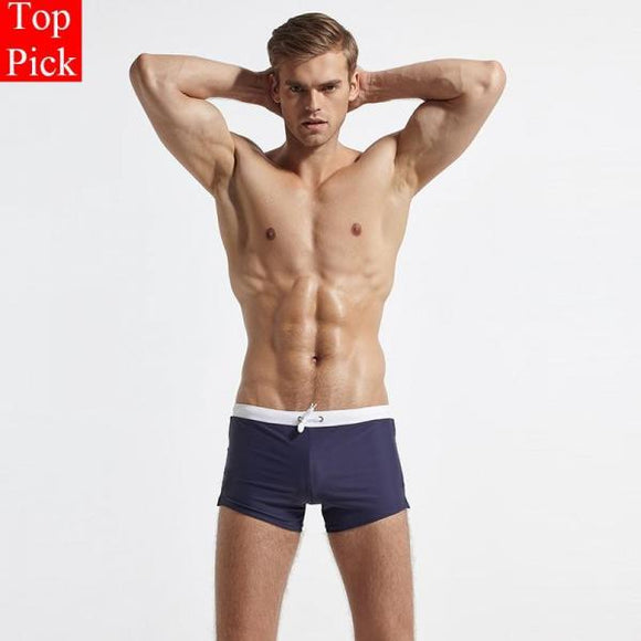 New Swimwear Men Swimsuit Sexy Men's Swimming Trunks For Bathing Swim Briefs Beach Shorts Maillot De Bain Homme-[product_type]-Come4Buy eShop