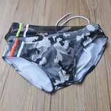 Camouflage Swimwear Trunks Swimming Briefs Shorts Boxers Underwear Beachwear Swimsuit-Men Clothing-Come4Buy eShop