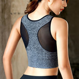 Seamless High Impact Sports Bra with Removable Cups High Support Pink Workout Yoga Bra Sexy Back-Sports Bra-Come4Buy eShop