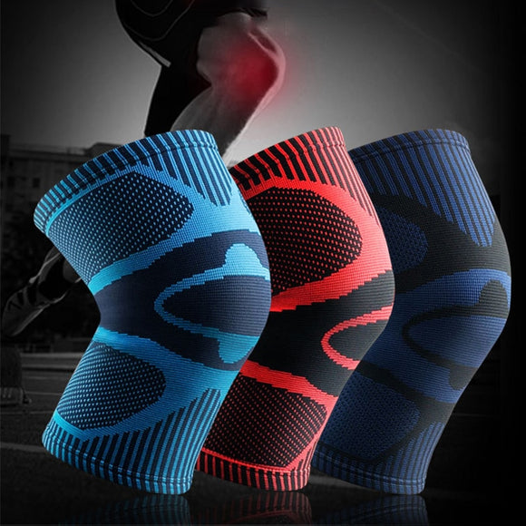 Basketball Knee Pads Knitting Anti Slip Breathable Knee Support Women Relieve Arthritis Kneeling Gym Patella Brace Guard Kneepad-[product_type]-Come4Buy eShop