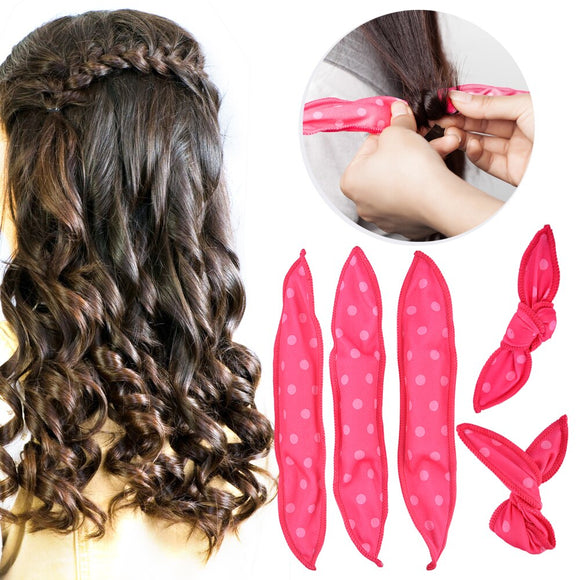 DIY Styling Hair Rollers Curl Tools Magic Sponge Pillow Soft Hair Roller