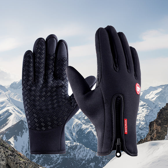Dress Winter Bike Gloves Women Men Full Finger Waterproof Ciclismo Bicycle Gloves Full Touch Breathable handschue fietshandschoe-[product_type]-Come4Buy eShop