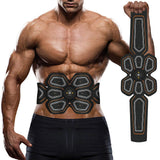 EMS ABS Trainer Abdominal Electro Stimulator Electrostimulation USB Charged Fitness Home Workout Gym Muscle Toning Belts