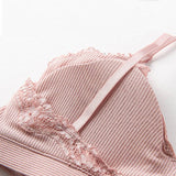 Cotton Lingerie Wireless Bras