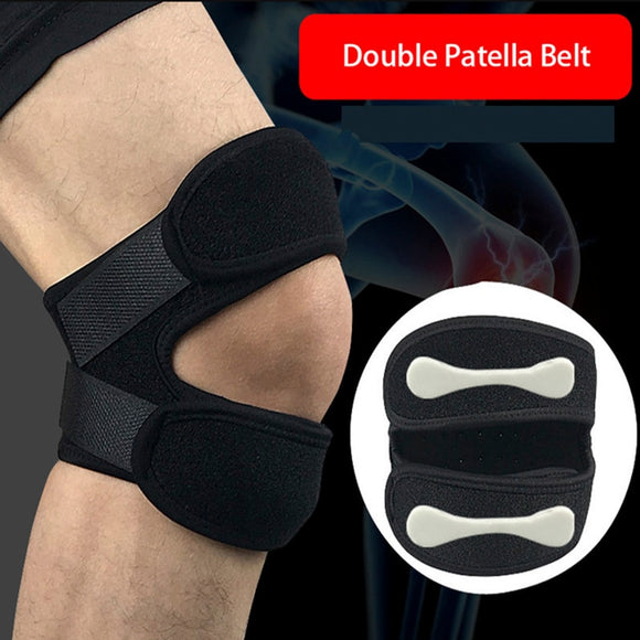 ARBOT Knee Support Adjustable Double Buckle Patella Guard Belt Strap Brace Running Basketball Football Sports Knee Protector-[product_type]-Come4Buy eShop