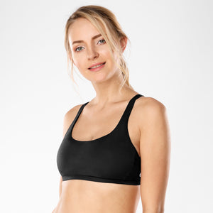 YOGA Women's Removable Pads Yoga Bra Tops Cross Strappy Back Sports Bra-Women Clothing-Come4Buy eShop