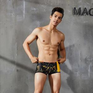 Summer Swimming Trunks Men Swimsuit Sexy Quick Dry Swim Briefs Hot Sunga Beach Shorts-[product_type]-Come4Buy eShop