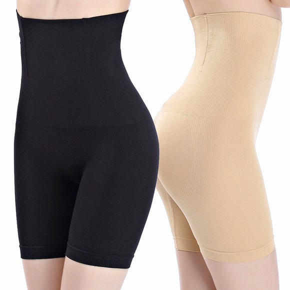 Women High Waist Shaping Panties Breathable Body Shaper Slimming Tummy Underwear Panty Shapers-Shapewear-Come4Buy eShop