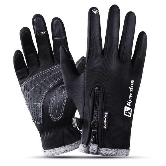 Women Men M L XL Cycling Gloves Spring Autumn Gloves Motorcycle Riding Winter Touch Screen Snow Breathable Glove Black Red Blue-[product_type]-Come4Buy eShop