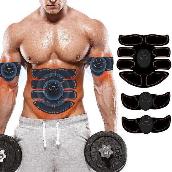 Smart Abdominal Muscle Stimulator Training EMS Abs Trainer Home Gym Trainer Fitness Gear Equipment Stimulator Muscle Exerciser