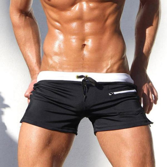 Sexy Swimsuit Man Brand 2019 New Swimwear Men Gay Mens Swimwear Swimsuits Swimming Trunks Mens Swim Briefs Shorts Beach Sunga-[product_type]-Come4Buy eShop