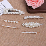 Pearl Hair clips For Women Girls Hair pins Barrette Hair grip Pins Hair Clips Wedding Accessories ZA JEWELRY-HAIR ACCESSORIES-Come4Buy eShop