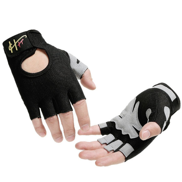 Crosfit Gloves Breathable Anti Slip Glove for Women Men Bodybuilding Weight Lifting Grip Excise  Gym Hand Gloves neck strength-Glove-Come4Buy eShop