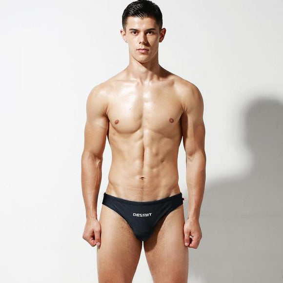 Sexy Swimming Trunks Men Swimwear Low-waist swimsuit Beach Short Quick Dry Swim Briefs-Men Clothing-Come4Buy eShop