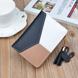 New Leather Small Women Wallets Zipper Short Tassel Cute Coin Purses Credit Card Holder Money Bag-BAG-Come4Buy eShop