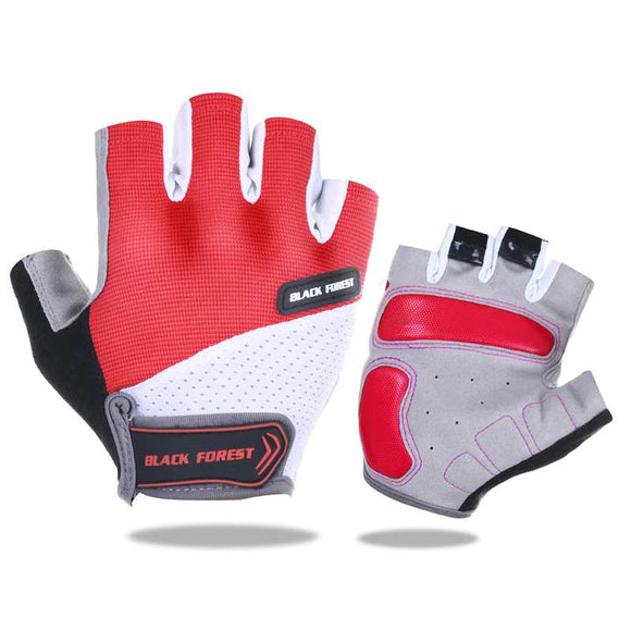 Sport Breathable Half Finger Cycling Gloves Men's Women;s Gel Paded Shockproof Bike Bicycle Motocross Gloves guantes ciclismo-Glove-Come4Buy eShop