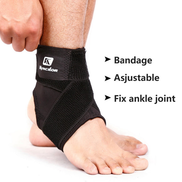 Ankle Weights Sports Elastic Brace Guard Ankle Support Protector Badminton Gym Nakefit Tobillera For Men Women Basketball Train-[product_type]-Come4Buy eShop