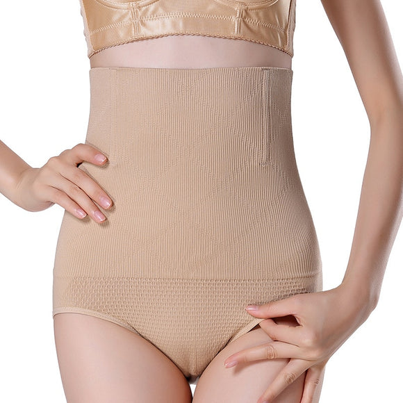 Women High Waist Shaping Panties Breathable Enhanced Body Shaper Slimming Tummy Underwear Panty Shapers-Shapewear-Come4Buy eShop