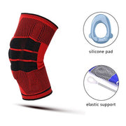 Kyncilor Knee Supports Brace Silicone Pads Support Soulager l'arthrite Basketball Volleyball Genou Protector Gym Fitness- [product_type] -Come4Buy eShop