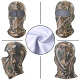 Winter Camouflage Fleece Balaclava Full Face Mask Warmer Motorcycle Sports Ski Snowboard Bike Bicycle Shield Outdoor Tactical (01)-Motorcycle Face Mask-Come4Buy eShop