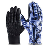 Kyncilor Gant Homme Hiver Bicycle Gloves Anti-slip Resistant Waterproof Velvet Mittens Luva guantes Cycling Gloves Winter Men-[product_type]-Come4Buy eShop