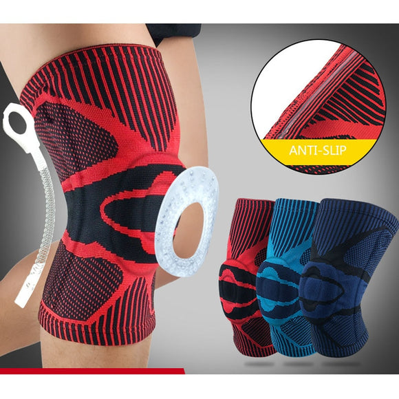 Nylon Elastic Sports Knee Pads Breathable Knee Support Brace Running Fitness Hiking Cycling Knee Protector Joelheiras SKDK-[product_type]-Come4Buy eShop