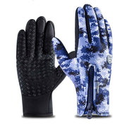 Kyncilor Fahrrad Handschuhe Cykelhandsker Modstandsdygtig Silikone Vandtæt Velvet Cykelhandsker Fox Winter Men Bycicle Glove- [product_type] -Come4Buy eShop