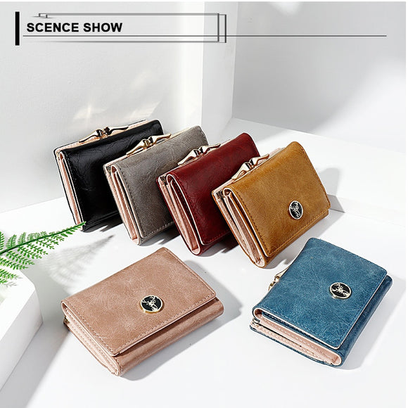 Short Coin Purse Wallet
