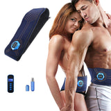 Abdominal Abs Toning Belt Vibration Fitness Massager Slimming Body Belts Electric Muscle Stimulator Trainer Waist Support