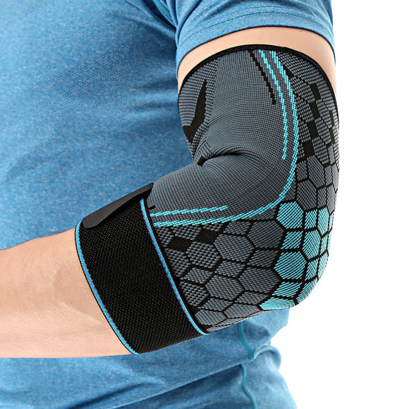 Elastic Bandage Elbow Support Anti-skid Compresion Elbow Protectors Armrests manicotti ciclismo Elbow Pads For Basketball-[product_type]-Come4Buy eShop