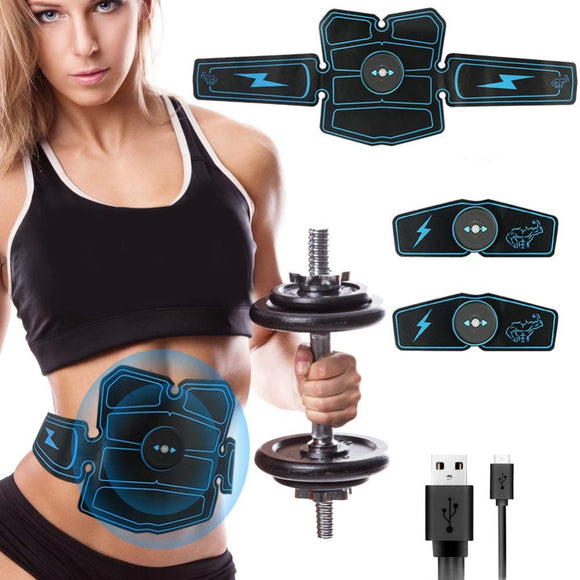 Abdominal Muscle Stimulator ABS Home Gym EMS Vibration Fitness Massager Electroestimulador Muscular Trainer Toner Toning Belt