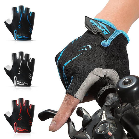Men Women Cycling Gloves Half Finger Summer Breathable Fingerless Bicycle Gloves Shock MTB Gloves Motocross Gloves For Sports-[product_type]-Come4Buy eShop