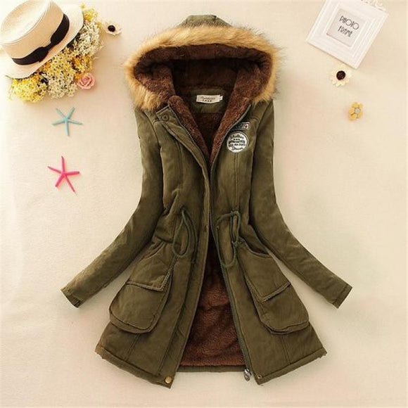 Women Long Sleeve Coats