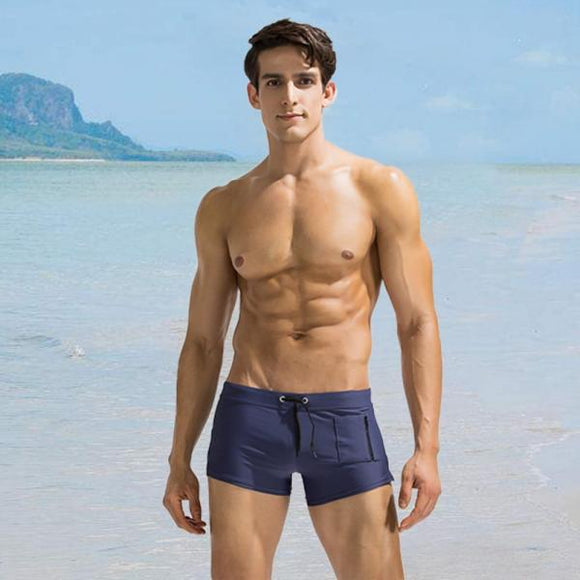 Side Zipper Pocket Swimwears Sexy Mens Swimsuits Man Swimming Shorts Sexy Men's Swimming Trunks For Bathing Summer Beachsuit-[product_type]-Come4Buy eShop
