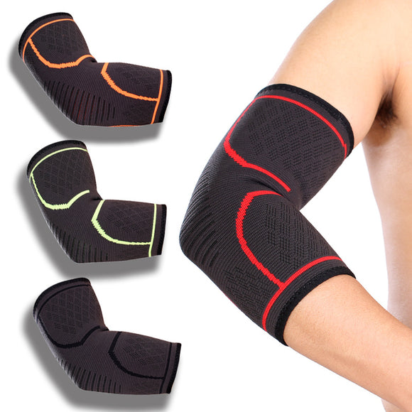 Elbow Support Kitting Elastic Anti-skid Compresion Elbow Protectors Elbow Braces Armrests manicotti ciclismo For Basketball-[product_type]-Come4Buy eShop