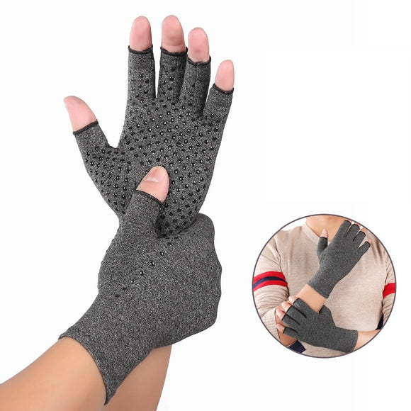 Sports Runnning Gloves Arthritis Gloves Therapeutic Compression Men Woman Circulation Grip Silicone Compression Arthritis Gloves-[product_type]-Come4Buy eShop