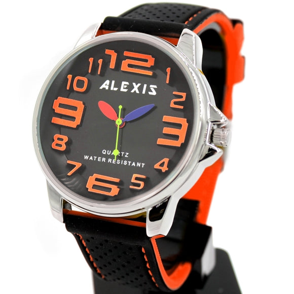 Alexis Silicone Strap Men Watch FW939B