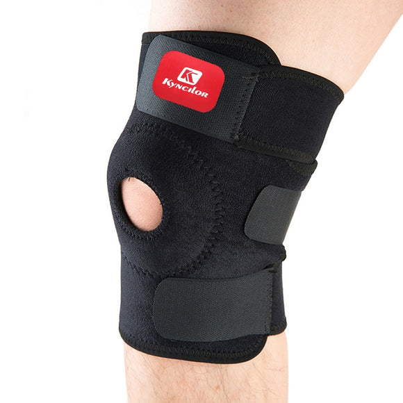Arbot High Quality Patella Knee Pads Football Basketball Volleyball Black Durable Knee Shin Protector Guard Pad Kneepad Black-[product_type]-Come4Buy eShop