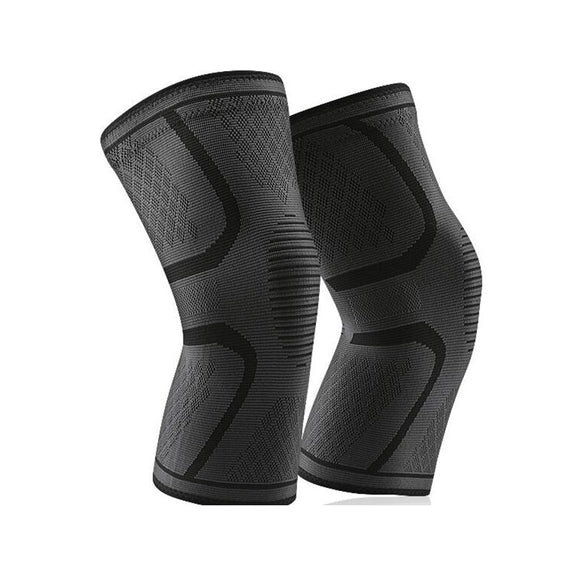 1 Pair Nylon Elastic Sports Knee Pads Breathable Knee Support Brace Running Fitness Hiking Cycling Knee Protector Joelheiras-[product_type]-Come4Buy eShop