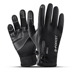 Full Finger Men Women Guantes Ciclismo Cycling Gloves Bike Bicycle Gloves Sport Waterproof Screen Touch Luvas bisiklet Black-[product_type]-Come4Buy eShop
