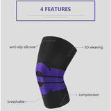 Fitness Running Cycling Breathable Knee Support Braces Elastic Leg Protective Pad Knee Protector Braces Compression Sleeve-[product_type]-Come4Buy eShop