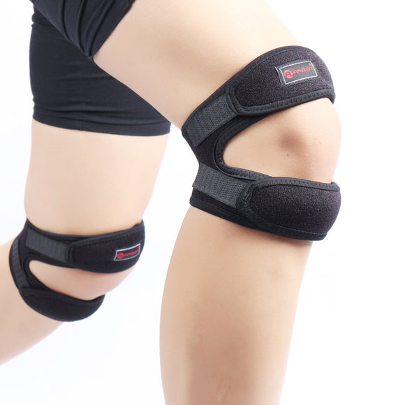ARBOT Adjustable Double Buckle Knee Sport Support Patella Guard Belt Strap Brace Running Basketball Football Protective gear-[product_type]-Come4Buy eShop