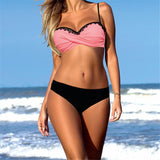 Summer Sexy Bikini Set Solid Bikinis Push Up Swimsuit Women-Women Clothing-Come4Buy eShop