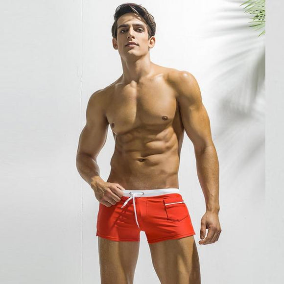 Swimwear Mens Board Shorts Quick Drying Men's Swimming Trunks For Bathing Man Swimming Shorts Gay Summer Swimsuit Biefs-[product_type]-Come4Buy eShop
