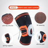 Nylon Elastic Spring Sports Knee Pads Breathable Support Knee Brace Running Fitness Hiking Cycling Knee Protector Joelheiras-[product_type]-Come4Buy eShop