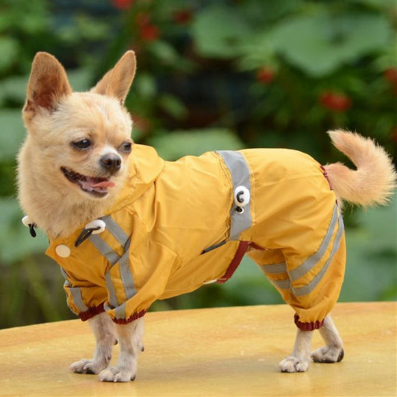 Waterproof Dog Clothes for Small Dogs Pet Rain Coats Jacket Puppy Raincoat Yorkie Chihuahua Clothes Pet Products