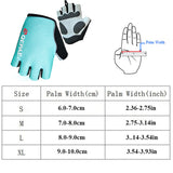 Qepae Bicycle Cycling Gloves Half Finger Gloves Night Reflective Gloves Men Women Anti Slip Bike Gloves With GEL Breathable Pads-Glove-Come4Buy eShop